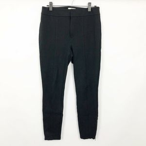 Anthropologie The Essential Slim Black Trouser